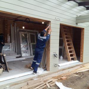 Timber House: prep