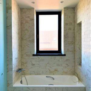 Private residence: bath window